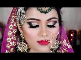 indian bridal makeup muslim bride gold