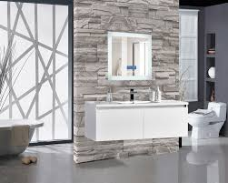 Encore LED Illuminated Bathroom Wall Mirror with Built-In Bluetooth Audio  Speaker