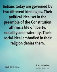 Constitution Quotes Interesting B R Ambedkar Religion Quotes QuoteHD