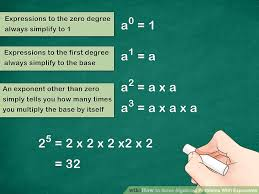 image titled solve algebraic problems with exponents step 1