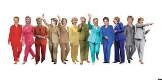 hillary clinton pantsuit rainbow reddit user celebrates hillz hillary clinton pantsuit rainbow reddit user celebrates hillz trademark outfit the huffington post