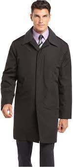 men s fashion coats trenchcoats black trenchcoats london fog microfiber raincoat