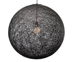 Large String Ball Pendant Lamp - Contemporary Mid-Century / Modern Organic  Pendants - Dering Hall