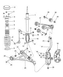 4782970ab genuine dodge retainer front rh moparpartsgiant dodge dakota front suspension diagram 2005 dodge dakota front suspension diagram