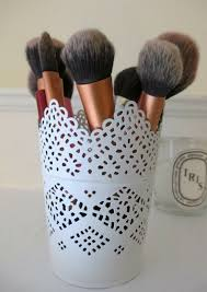 cute makeup brush holder. 403cdc6d408420226ef775ada23021d3 plant pots when your makeup brushes are in beauty bag cute brush holder