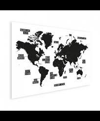 Wereldkaart Op Poster Bestel Nú Op Wereldkaartennl