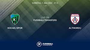 Kocaelispor vs Altinordu 36. Spieltag 1. Lig 2021/2022 1/5 im Liveticker