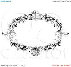 Best Photos of Vector Ornate Oval Frames Ornate Oval Frame Clip