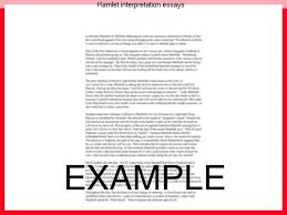 hamlet interpretation essays coursework writing service hamlet interpretation essays hamlet is very brave in that he does not fear a challenge