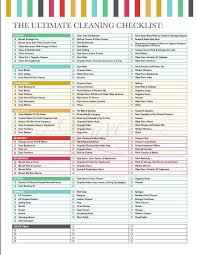 The Ultimate House Cleaning Checklist Printable Pdf Etsy