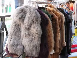 d d italia milan flea market fur coats