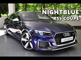 2018 audi rs5 coupe. perfect audi nightblue audi rs5 coupe 2018 with 2018 audi rs5 coupe g