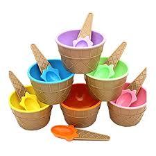 <b>Ice Cream</b> Bowls, SHOBDW <b>1PC</b> Kids lovely <b>ice cream</b> bowls ice ...