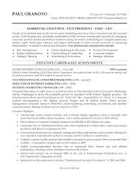 Resume For Marketing Manager Resume For Study