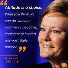 Pat Summitt Quotes Interesting TODAY On Tennessee Pinterest Pat Summitt Sport Quotes And