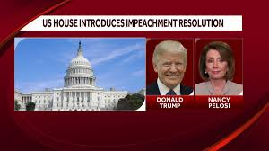 Trump's impeachment procedure is coming to a logical conclusion. House Democrats Introduce Impeachment Resolution Charging Trump With Incitement Of Insurrection