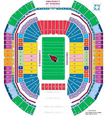 University Of Phoenix Stadium Seat View Lainiciativa Co