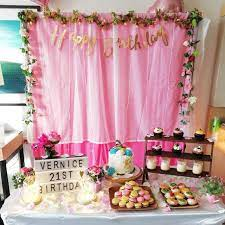 birthday party decoration furniture