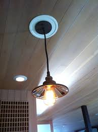 convert downlight to pendant light with westinghouse recessed
