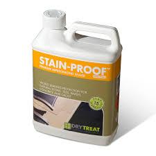 dry treat stain proof original penetrating sealer
