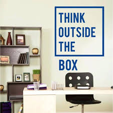 motivational office pictures. Motivational Wall Decal Inspirational Quotes Office Art Decor Think Outside Sticker Pictures E