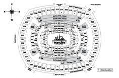 Metlife Seating Chart With Seat Numbers 29 Best Stadium Seat Images In 2019 Pvc Projects Good
