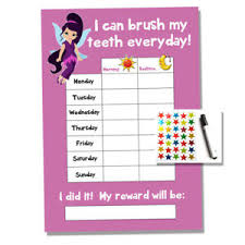 Teeth Cleaning Sticker Chart Details About Fairy Tooth Teeth Brushing Reward Chart Kids Childrens Sticker Star
