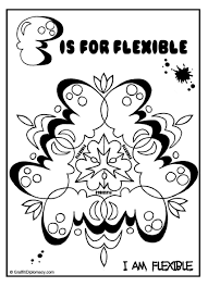 flexible mandala free coloring page graffiti letters