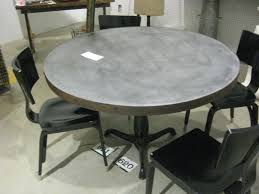 round zinc top dining table round zinc top dining table uk zinc top railway trestle round dining table round zinc top dining table make a round zinc table