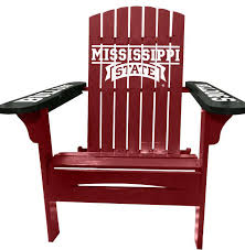 Collegiate Adirondack Chairs from Dann What fun Show your Team