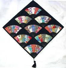 Best 25+ Japanese quilt patterns ideas on Pinterest | Sashiko ... & Gorgeous Japanese Sensu (Fans) pattern by Misako Kamogawa (2006) Adamdwight.com