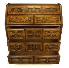 drexel sandia collection jacobean drop front desk for at stdibs drexel sandia collection jacobean drop front desk 3