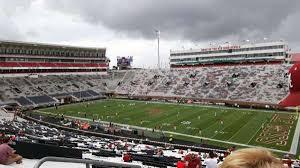 Vaught Hemingway Stadium Section K Row 60 Home Of Ole
