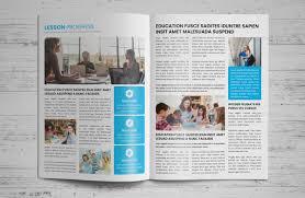 Education Newsletter Templates Education Newsletter Template