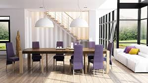 gorgeous luxury purple dining room chairs