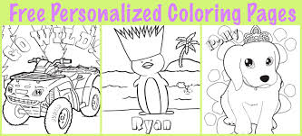 Free Personalized Printable Coloring Pages For Kids Partyideaproscom