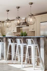 recessed lighting to pendant. Globe Convert Recessed Light To Pendant In Kitchen With White Stools Lighting R