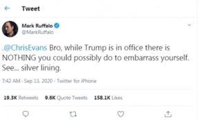 Chris Evans accidentally leaks explicit photo, Mark Ruffalo reacts