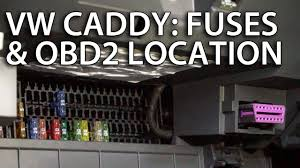 where are fuses and obd2 diagnostic port in vw caddy lift where are fuses and obd2 diagnostic port in vw caddy lift