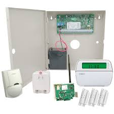 dsc powerseries pc1616 cellular gsm hardwired security system