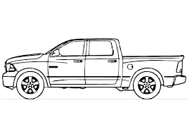 pickup truck coloring pages. Wonderful Pickup Trucks Coloring Pages Of And Trailers Pickup Truck  And Pickup Truck Coloring Pages I