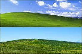 I found the Bay Area hill in Windows XP ...