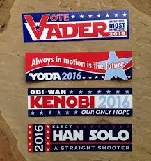 political campaign bumper stickers i found my cep star wars related bumper stickers for 2016 gbcn