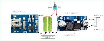 mobile phone travel charger circuit diagram images power bank modules connection diagram