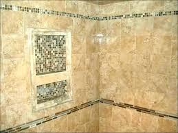small tile shower remodel