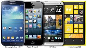 Samsung Galaxy S4 Comparison Chart Samsung Galaxy S 4 Compared With Competitors Chart