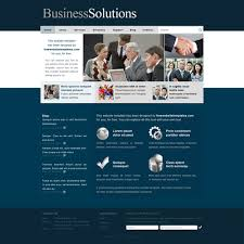 Business Website Templates Simple Business Solutions Website Template Free Website Templates