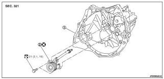 nissan altima 2007 2012 service manual csc concentric slave 1 transaxle assembly