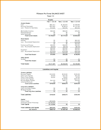 Free Personal Financial Statement Forms Online. Personal Financial ...