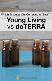Young Living Vs Doterra Which Essential Oils Company Is